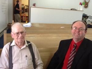 Vernon and Pastor Tim