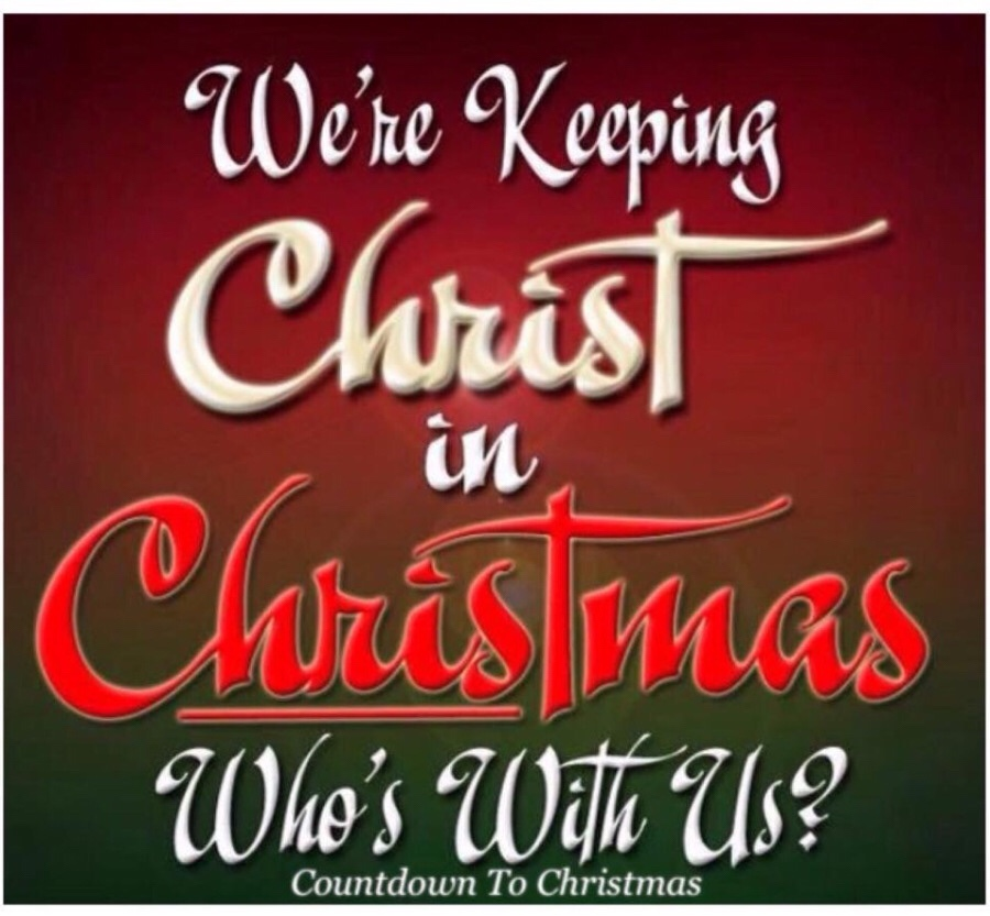 Keep Christ in Christmas | Center for Evangelists